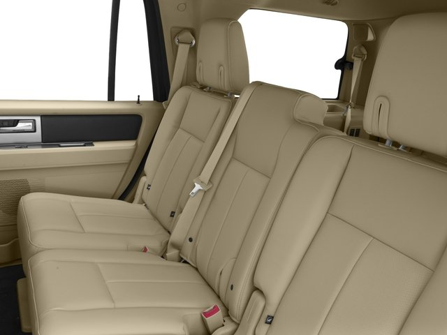 2015 Ford Expedition Prices and Values Utility 4D Limited 2WD backseat interior