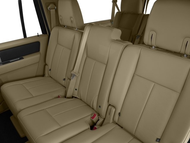 2015 Ford Expedition EL Prices And Values Utility 4D Platinum 4WD Backseat  Interior