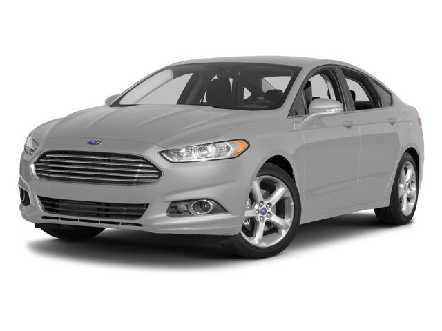 2015 Ford Fusion Prices and Values Sedan 4D SE I4 side front view
