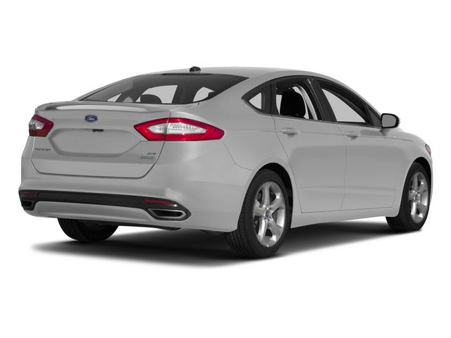 2015 Ford Fusion Prices and Values Sedan 4D SE I4 side rear view