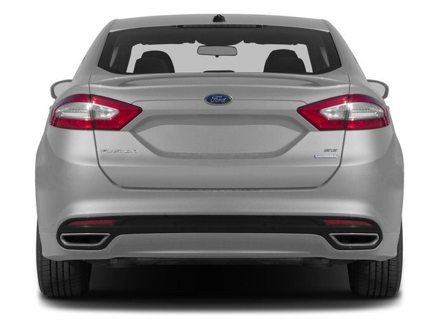 2015 Ford Fusion Prices and Values Sedan 4D SE I4 rear view