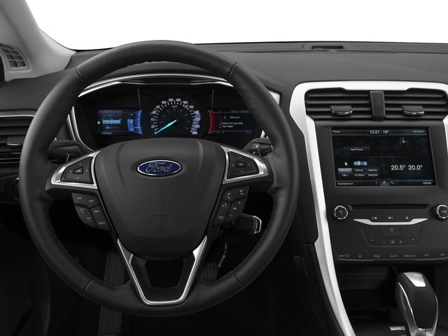 2015 Ford Fusion Prices and Values Sedan 4D SE I4 driver's dashboard