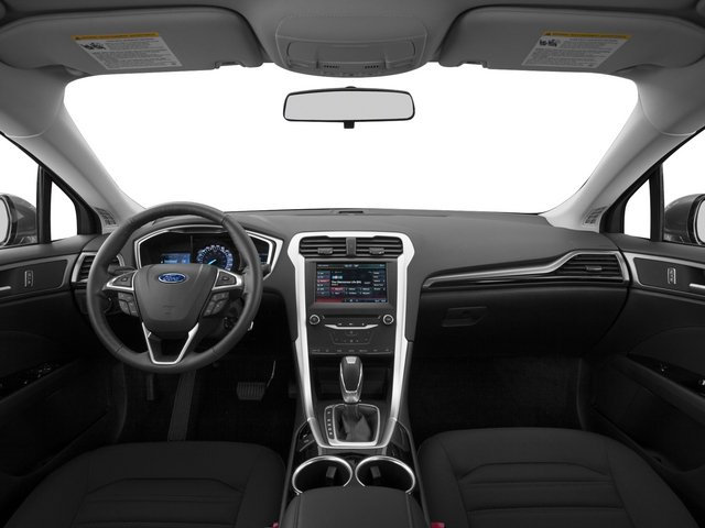 2015 Ford Fusion Prices and Values Sedan 4D SE I4 full dashboard