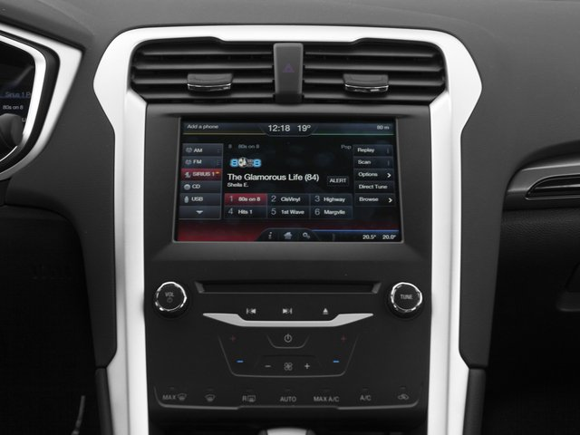 2015 Ford Fusion Prices and Values Sedan 4D SE I4 stereo system