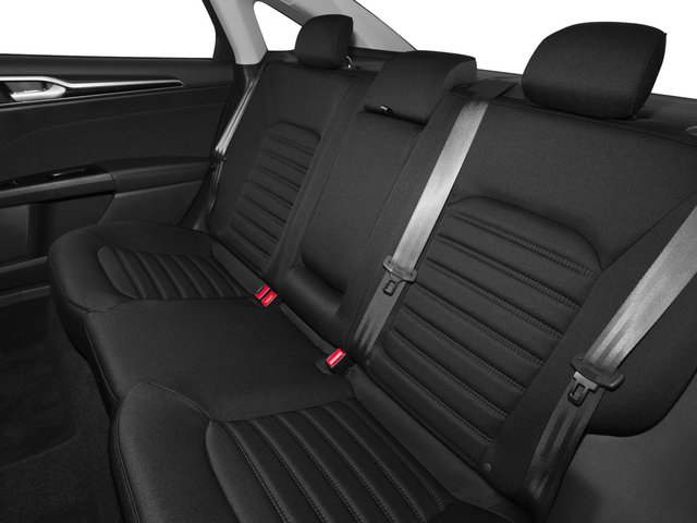 2015 Ford Fusion Prices and Values Sedan 4D SE I4 backseat interior