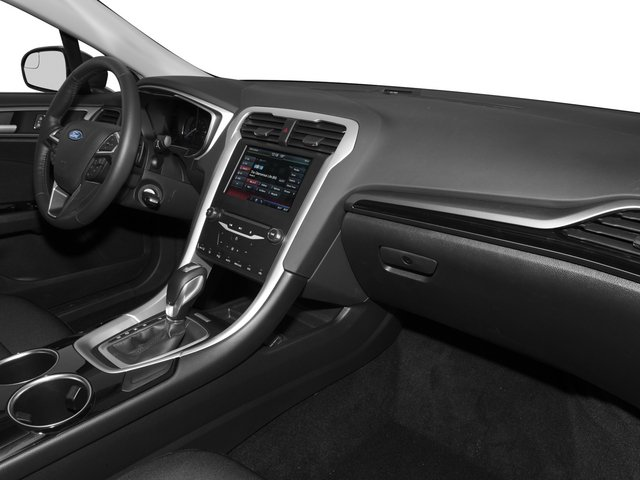 2015 Ford Fusion Prices and Values Sedan 4D SE I4 passenger's dashboard