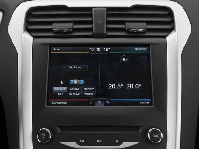 2015 Ford Fusion Prices and Values Sedan 4D SE I4 navigation system