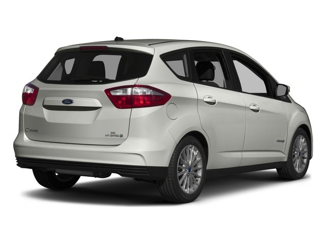 2015 Ford C-Max Hybrid Pictures C-Max Hybrid Hatchback 5D SEL I4 Hybrid photos side rear view