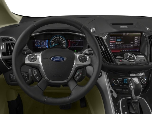 2015 Ford C-Max Energi Prices and Values Hatchback 5D Energi I4 Hybrid driver's dashboard