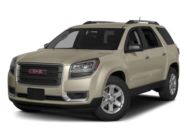 2015 GMC Acadia Pictures Acadia Utility 4D SLT AWD photos side front view