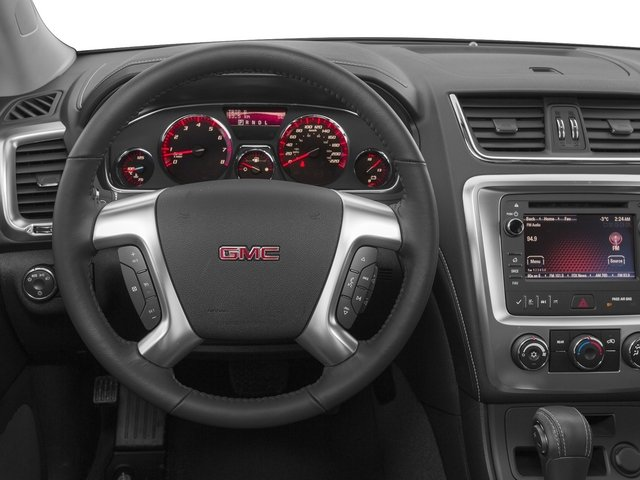 2015 GMC Acadia Prices and Values Utility 4D SLE2 AWD driver's dashboard