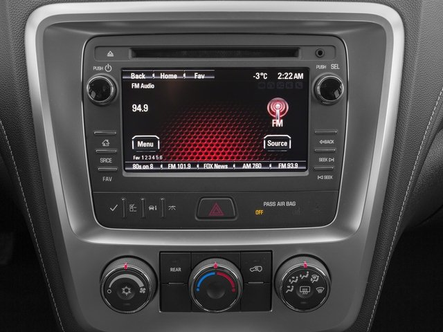 2015 GMC Acadia Prices and Values Utility 4D SLE2 AWD stereo system