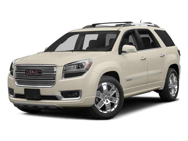 2015 GMC Acadia Prices and Values Utility 4D Denali AWD side front view