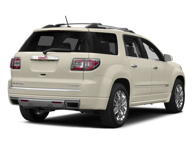 2015 GMC Acadia Prices and Values Utility 4D Denali AWD side rear view