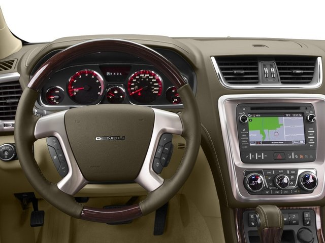 2015 GMC Acadia Prices and Values Utility 4D Denali AWD driver's dashboard