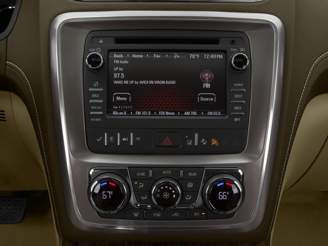 2015 GMC Acadia Prices and Values Utility 4D Denali AWD stereo system