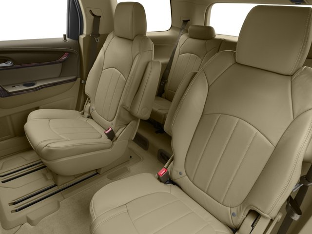 2015 GMC Acadia Prices and Values Utility 4D Denali AWD backseat interior