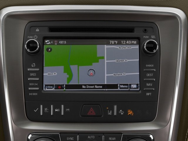 2015 GMC Acadia Prices and Values Utility 4D Denali AWD navigation system