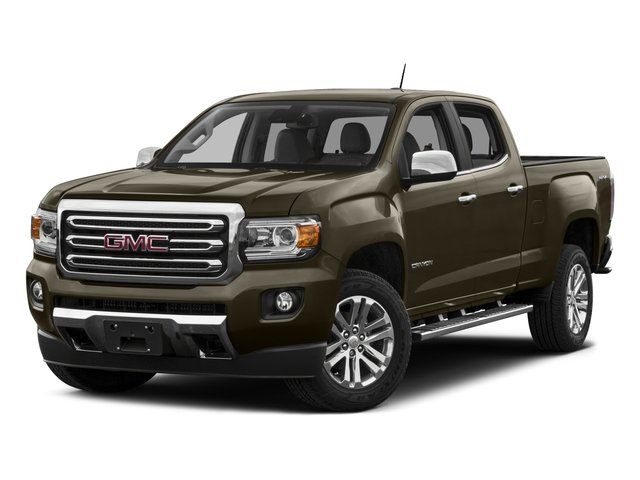 2015 GMC Canyon Prices and Values Crew Cab SLE 4WD side front view