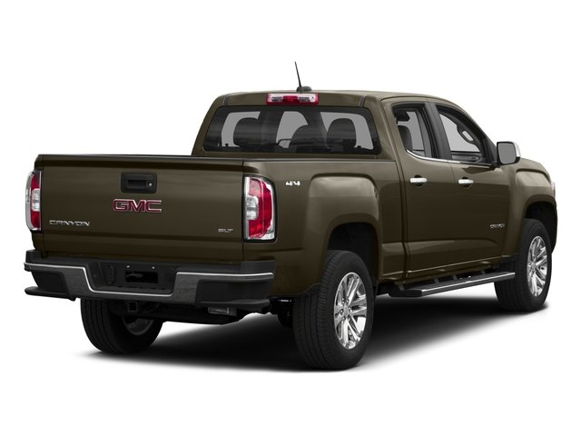 2015 GMC Canyon Prices and Values Crew Cab SLE 4WD side rear view