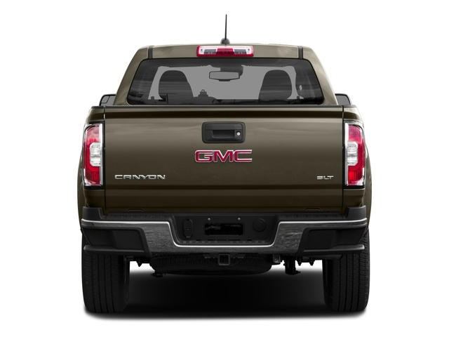 2015 GMC Canyon Prices and Values Crew Cab SLE 4WD rear view