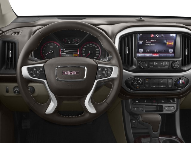2015 GMC Canyon Prices and Values Crew Cab SLE 4WD driver's dashboard