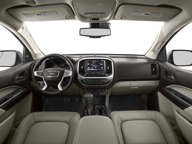 2015 GMC Canyon Prices and Values Crew Cab SLE 4WD full dashboard