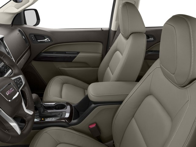 2015 GMC Canyon Prices and Values Crew Cab SLE 4WD front seat interior