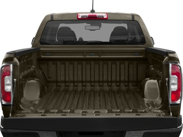 2015 GMC Canyon Prices and Values Crew Cab SLE 4WD open trunk