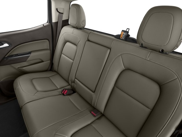 2015 GMC Canyon Prices and Values Crew Cab SLE 4WD backseat interior