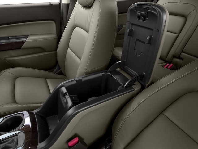 2015 GMC Canyon Prices and Values Crew Cab SLE 4WD center storage console