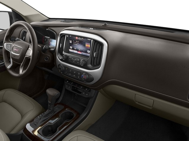 2015 GMC Canyon Prices and Values Crew Cab SLE 4WD passenger's dashboard