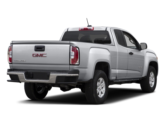 2015 GMC Canyon Pictures Canyon Extended Cab SLE 2WD photos side rear view