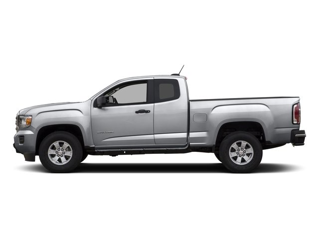 2015 GMC Canyon Pictures Canyon Extended Cab SLE 2WD photos side view