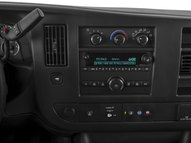 2015 GMC Savana Passenger Prices and Values Savana LT 135  stereo system
