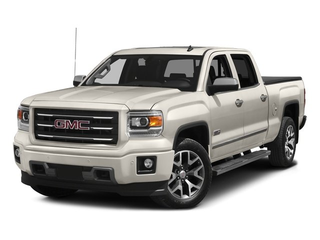2015 GMC Sierra 1500 Prices and Values Crew Cab SLE 2WD side front view