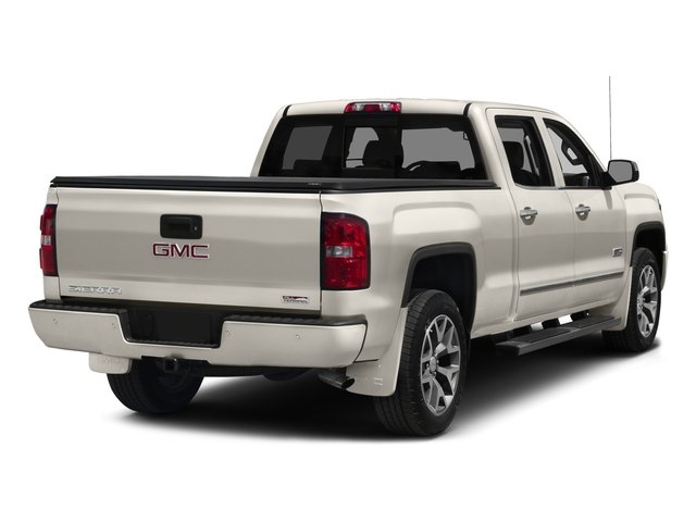 2015 GMC Sierra 1500 Prices and Values Crew Cab SLT 2WD side rear view