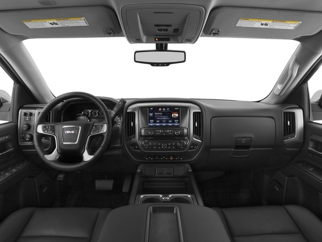 2015 GMC Sierra 1500 Prices and Values Crew Cab SLE 2WD full dashboard