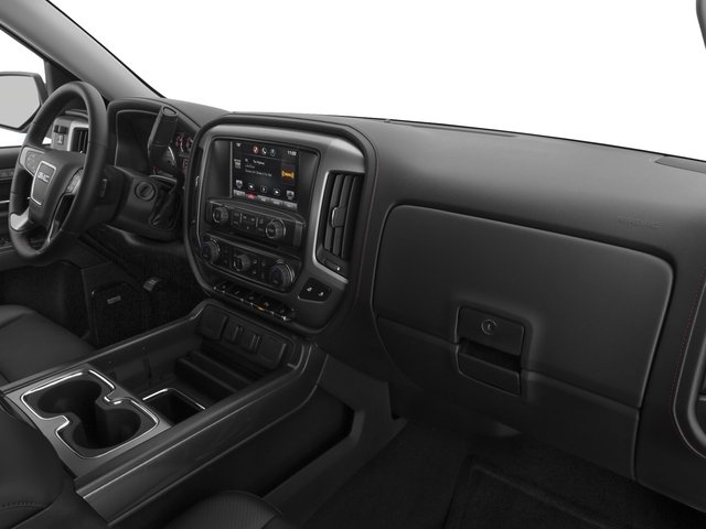 2015 GMC Sierra 1500 Prices and Values Crew Cab SLT 2WD passenger's dashboard