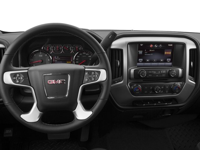 2015 GMC Sierra 1500 Prices and Values Extended Cab SLE 4WD driver's dashboard