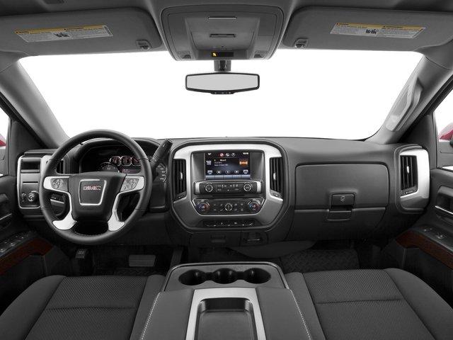 2015 GMC Sierra 1500 Prices and Values Extended Cab SLE 4WD full dashboard