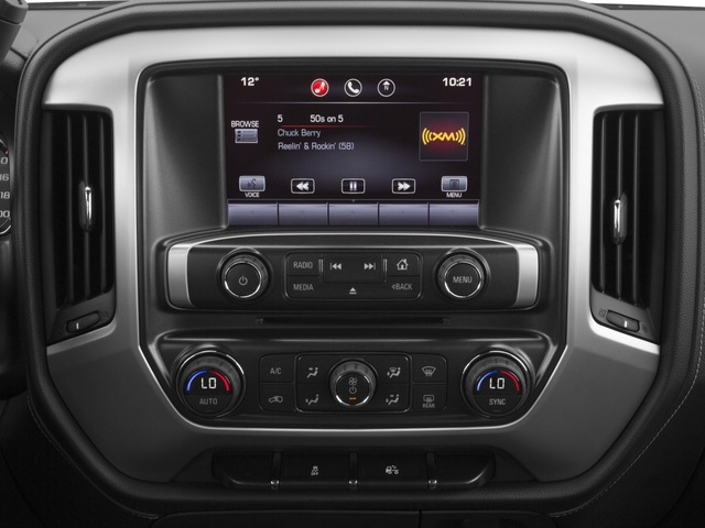 2015 GMC Sierra 1500 Prices and Values Extended Cab SLE 4WD stereo system
