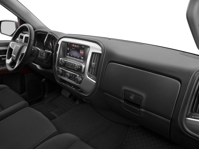 2015 GMC Sierra 1500 Prices and Values Extended Cab SLE 4WD passenger's dashboard