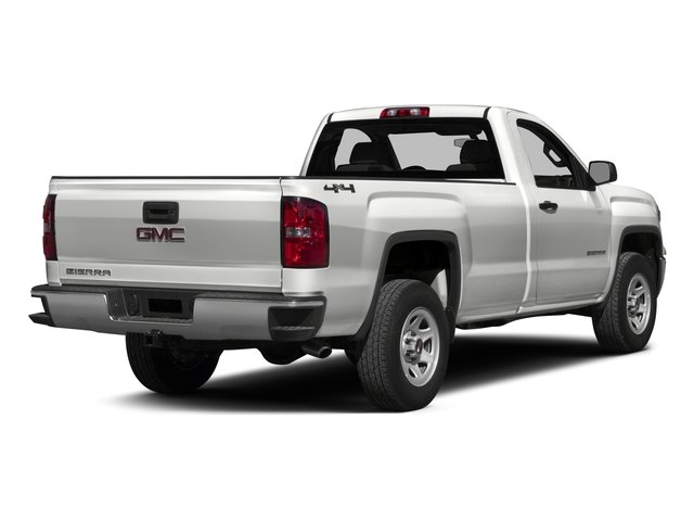 2015 GMC Sierra 1500 Prices and Values Regular Cab SLE 4WD side rear view