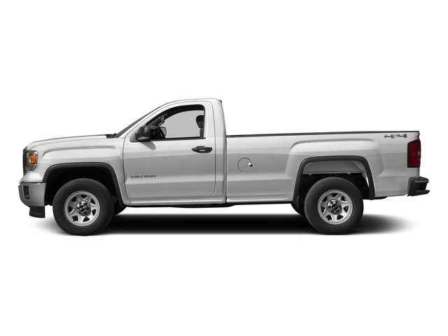 2015 GMC Sierra 1500 Prices and Values Regular Cab SLE 4WD side view