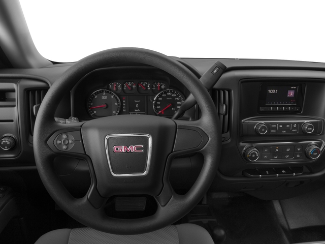 2015 GMC Sierra 1500 Prices and Values Regular Cab SLE 4WD driver's dashboard