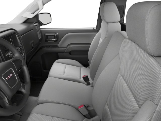 2015 GMC Sierra 1500 Prices and Values Regular Cab SLE 4WD front seat interior