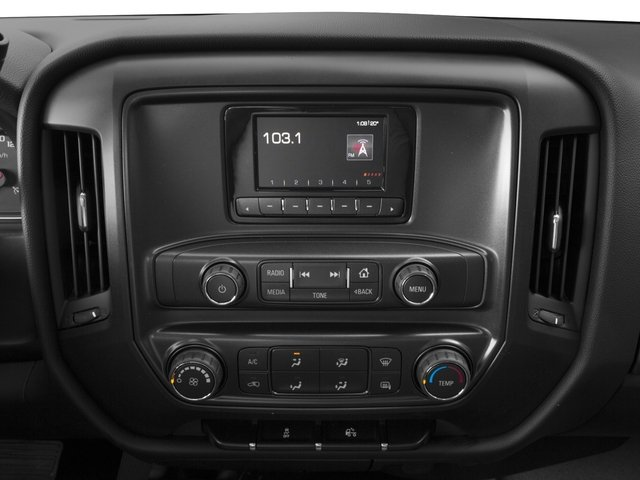 2015 GMC Sierra 1500 Prices and Values Regular Cab SLE 4WD stereo system