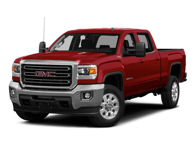 2015 GMC Sierra 2500HD Prices and Values Crew Cab SLE 4WD side front view