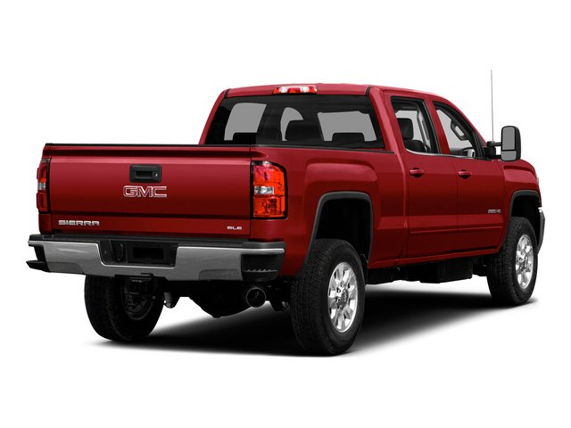 2015 GMC Sierra 2500HD Prices and Values Crew Cab SLE 4WD side rear view